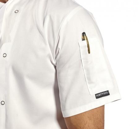 Bluza kucharska szefa kuchni C733 Portwest