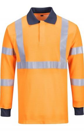 Koszulka robocza polo odblaskowa trudnopalna FR76 PORTWEST